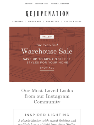Rejuvenation - Projects that inspired us + save up to 60%