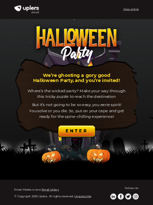 Email Monks - 🎃😈 Enjoy this Halloween Party! 😈🎃