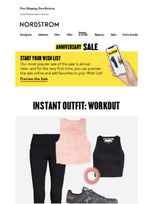 Instant Outfit: summer workout