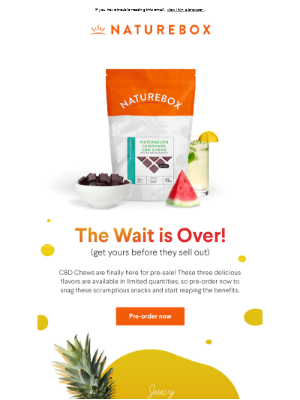 CBD Fruit Chews AVAILABLE for PRE-ORDER!
