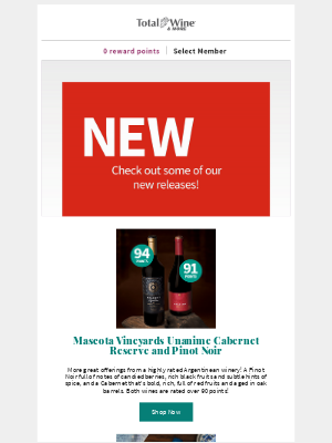 Total Wine & More - What's New in October!