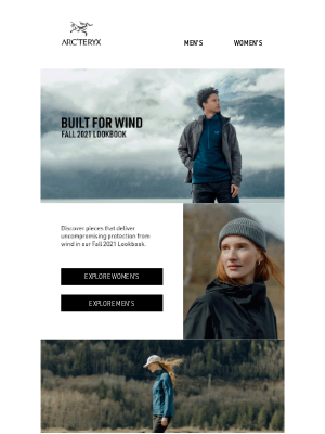Arc'teryx - Wind: Discover Uncompromising Protection