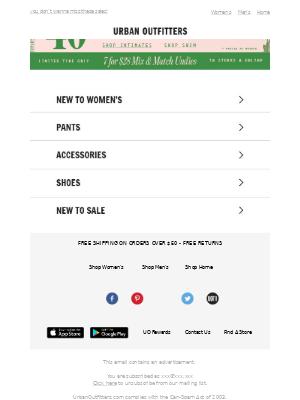 25% off Calvin Klein bras & undies (+ up to 40% off ends today)