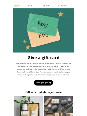 Etsy - Hi there, this gift is 100% successful