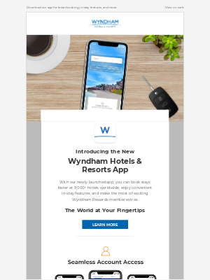 Wyndham Hotel Group - Book Stays Faster with Our Brand-New App