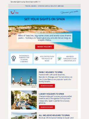 TUI (UK) - Thinking of a Spanish escape?