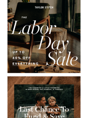 Taylor Stitch - Labor Day Sale—Save An Extra 20% On Workshop Gear