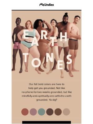 MeUndies - New Earth Tones 🌎🤎