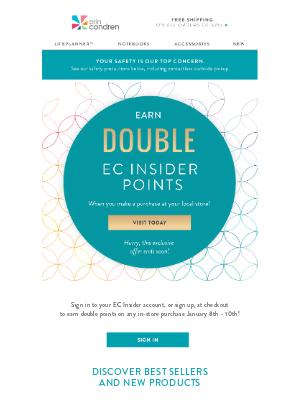 Erin Condren - Earn Double Points❣️