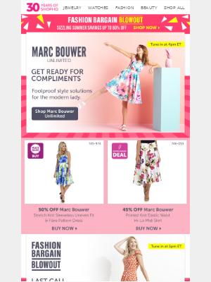 ShopHQ - Did someone say fashion?