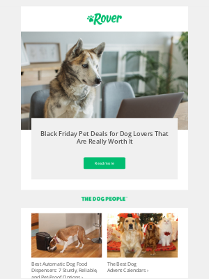 Rover.com - 👋  your dog would like you to check out these Black Friday deals