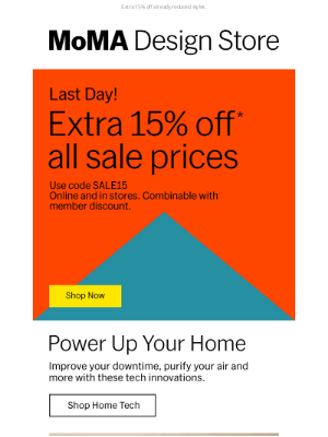 Museum of Modern Art Store (MoMA) - Your Last Day to Save