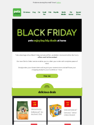 Pets at Home (UK) - Have you seen our Black Friday deals? 👀