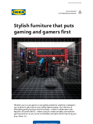 IKEA - Hey gamers, it's time to get your game on!