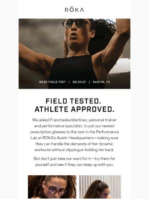 ROKA - Field-tested. Field-approved.