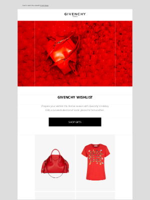 Givenchy - Holiday Edit: your Givenchy wishlist