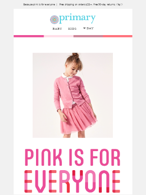 💗We have pink for kids who wear pink 💗