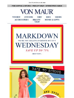 Happy Markdown Wednesday!