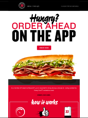 Jimmy John's - If you stopped scrolling, you must be hungry.