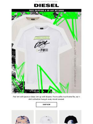 It's T-Shirt Season   Get The New Men's Styles