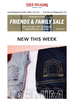 True Religion - What's New This Week.