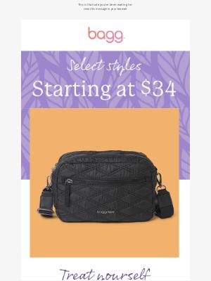 baggallini - baggs starting at $34