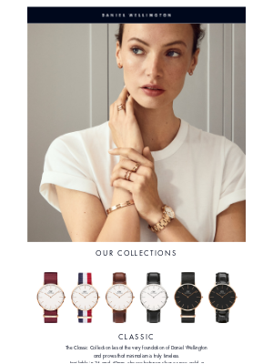 Daniel Wellington - Discover our collections ⭐