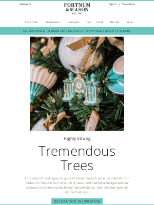 Fortnum & Mason - Oh Christmas Tree 🎄