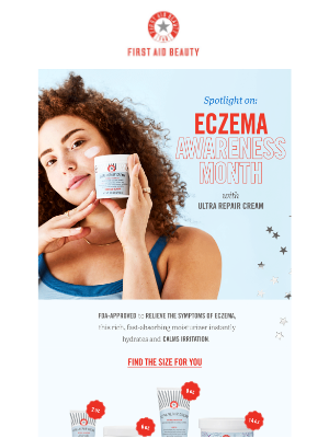 First Aid Beauty - Hey there! It's Eczema Awareness Month
