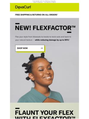DevaCurl - NEW! FlexFactor™ is here