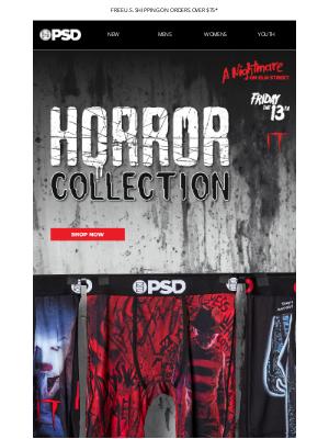 PSD Underwear - Get Ready for Halloween