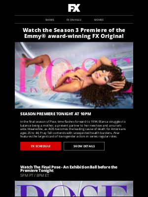 Disney - The Final Season of Pose Premieres Tonight on FX