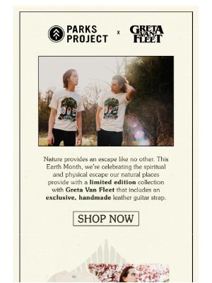 Parks Project - NEW: Greta Van Fleet x Parks Project 🌳