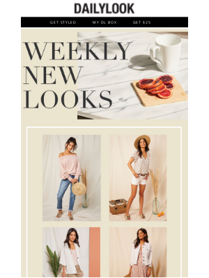 DailyLook - New Month, More New Looks!