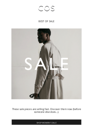 COS - Going fast: shop sale favorites at 50% off