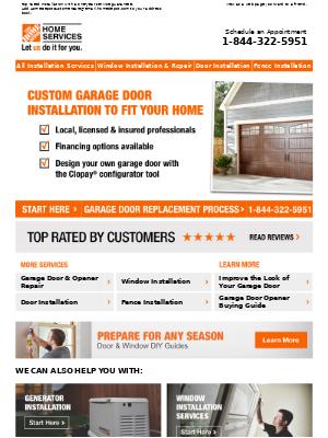 Design Your Garage Door with Clopay®