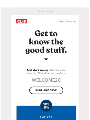 Clif Bar & Co. - CLIF Bar is just the beginning.