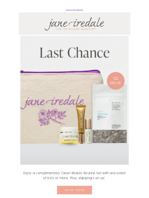 jane iredale - Get your clean routine gift before it's gone!