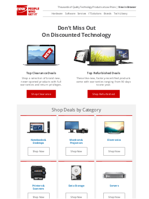 CDW - Shop CDW's Outlet and Save