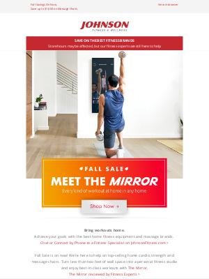 Johnson Fitness - Fall Sale🍂Meet The Mirror