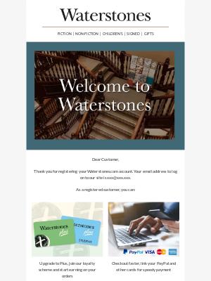 Waterstones (UK) - Welcome to Waterstones