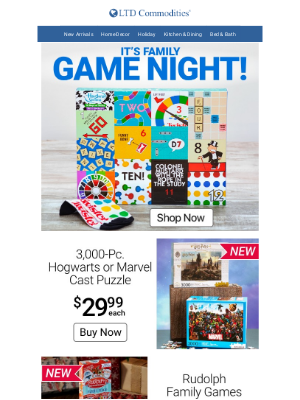 LTD Commodities - It's Game Night! Roll The Dice!