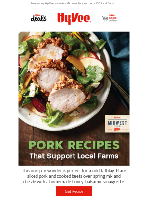 Hy-Vee - 37 Pork Recipes That Support Local Farms