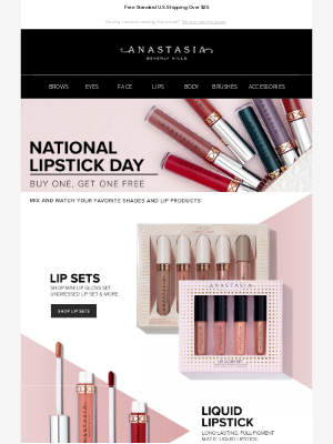 Buy One, Get One Free - All Lip!