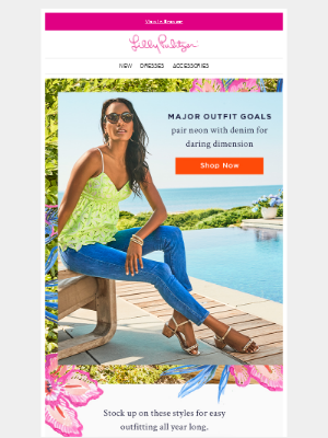 Lilly Pulitzer - Your September essentials