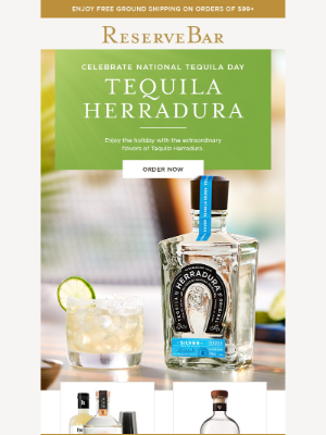 Reserve Bar - Happy National Tequila Day!