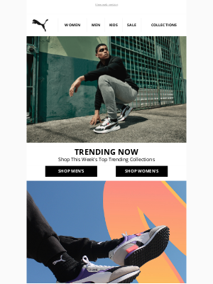 PUMA (UK) - Trending Right Now...