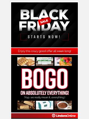 Lindora LLC. - Bogo on Everything at Our Online Store.