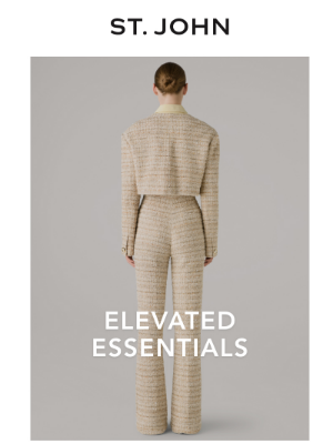 St. John Knits - Introducing the Essentials