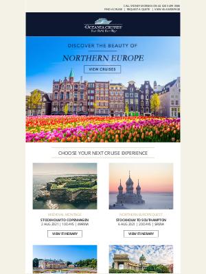 Oceania Cruises - 4 Incredible Northern Europe Itineraries We Love